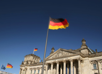 Picture of historic Berlin-Reichstag