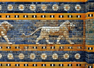 Picture of the Ishtar Gate at Pergamon Museum Berlin
