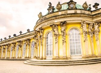 Picture of Sanssouci palace in Potsdam