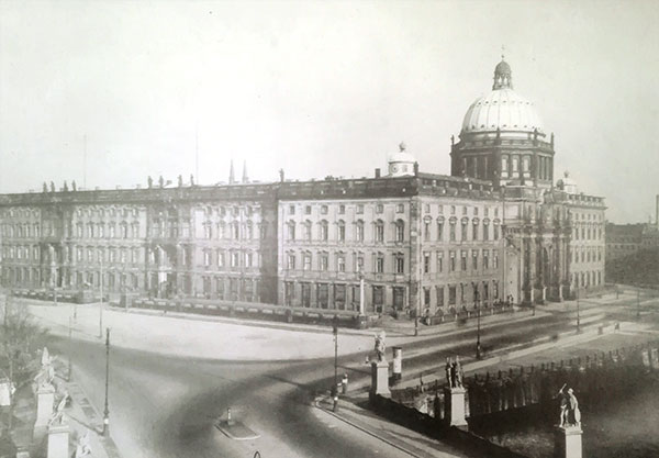 Image of the Berlin City Palace before the destruction.
