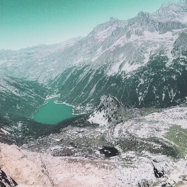 A picture of the Alps in Piedmont, Italy